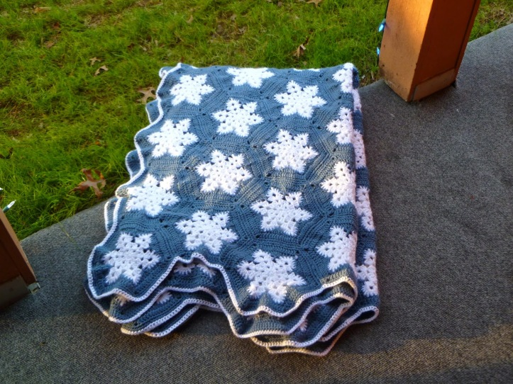 Snowflake Afghan Finished (3).JPG