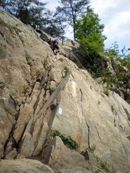 The Billy Goat Trail, Great Falls National Park, Great Falls, Maryland